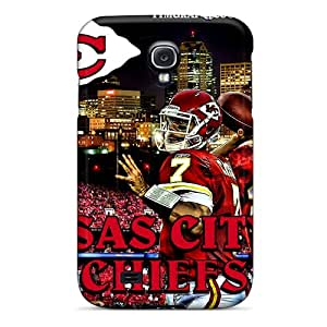 Protective Kansas City Chiefs Design Phone Cover For Galaxy S4