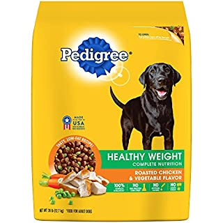 Pedigree Healthy Weight Adult Dry Dog Food Roasted Chicken