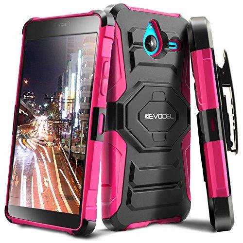 Lumia 640 XL Case, Evocel [New Generation Series] Belt Clip Holster, Kickstand, Dual Layer for Microsoft Lumia 640 XL, Pink (EVO-NK640XL-XX05)