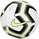 Nike Strike Team Ball (White/Black/Volt) Size 5
