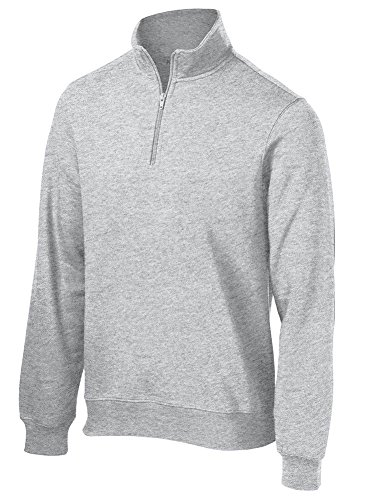 Joe's USA Men's Tall 1/4-Zip Sweatshirt Sizes LT-4XLT