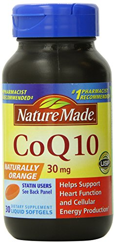 Nature Made CoQ-10, 30mg, 30 Softgels (Pack of 2) Review