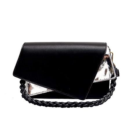e29bfcec5d9a Amazon.com: Cujubag Messenger Bags Leather Female Shoulder Bags ...