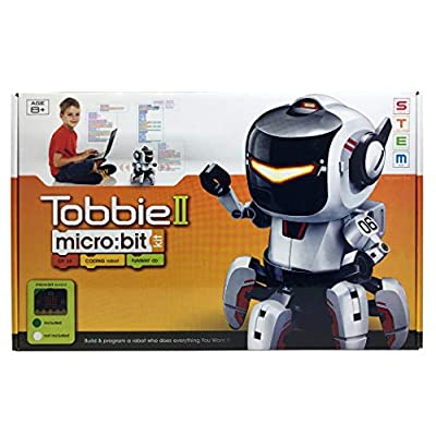 Circuit-Test Tobbie II |BBC Micro:bit Robot Kit | STEM Educational Toys for Kids 10+: Toys & Games