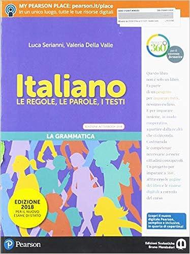 Italiano. Per la Scuola media. Con ebook. Con espansione online ...