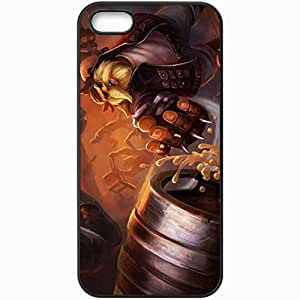 Personalized iPhone 5 5S Cell phone Case/Cover Skin League Of Legends Black