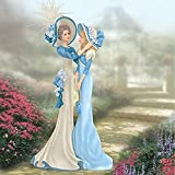 The Bradford Exchange Exclusively My Granddaughter, My Friend Figurine By Thomas Kinkade