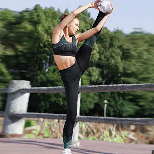 Legging Mujer Leggins Pantalones Vectry Vestir Verde Yoga 8OqxXU7w6