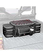 kemimoto Upgrade UTV Storage Pack, UTV Rear Cargo Storage Bag with Soft Cooler Compatible with Polaris Ranger RZR 900 1000 Can Am Maverick