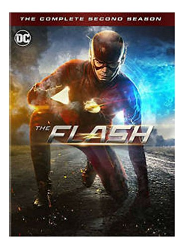 The Flash: The Complete Second Season 2 (DVDS, 2016, 6-Disc Set)