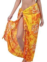 Ingear Print Sarong Summer Beachwear Pareo Handmade Wrap Skirt Swimsuit Cover Up