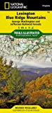 Lexington, Blue Ridge Mts [George Washington and Jefferson National Forests] (National Geographic Trails Illustrated Map)