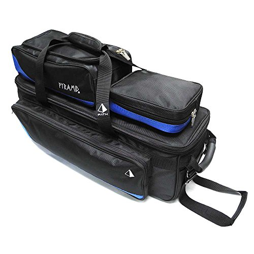 Pyramid Path Triple Tote Roller Plus Blue