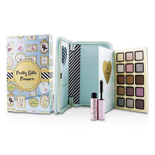 Too Faced Pretty Little Planner Collection - Eyeshadow Palette, Mini Mascara, Agenda Cover & Year-Round Agenda [並行輸入品] B07TZ2422M