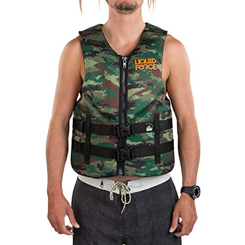 Liquid Force Men's Hinge Classic Life Jacket Camo (S)