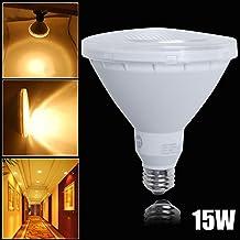Excellent 1 Piece PAR Flood Light Bulb PAR38 E26 COB LED Warm White Non Dimmable Short Neck 1150LM 15W AC100-240V
