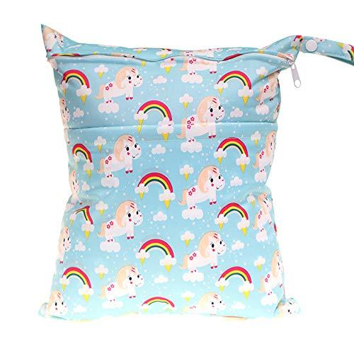 XSM Baby Diaper Bag Waterproof Washable Reusable Baby Cloth Hanging Diaper...