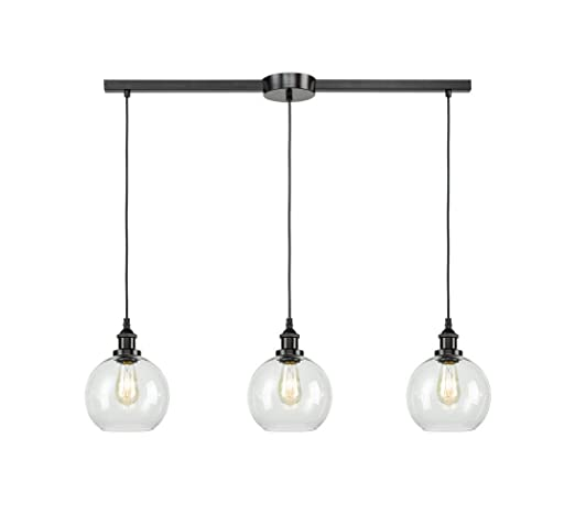 Charmant Image Unavailable. Image Not Available For. Color: EUL Industrial Kitchen  Island Lighting Linear Pendant ...