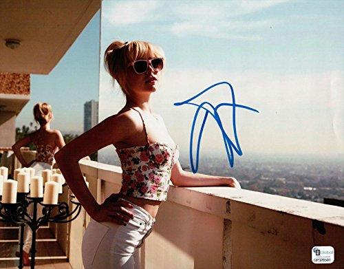 Alessandra Torresani Signed 8X10 Photo Autograph Sexy Blonde Balcony ()