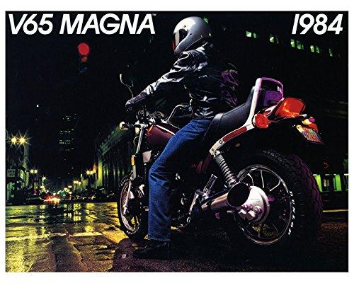 1984 Honda V65 Magna VF1100C 1100 Motorcycle Factory Photo