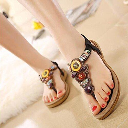Zapatos SUNAVY negro de Mujer tacón dXqdvxPw