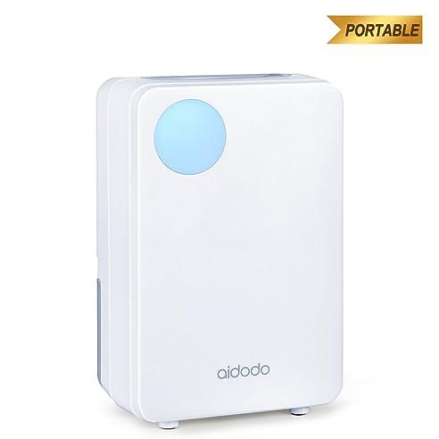 Aidodo Luftentfeuchter Elektrischer Mini Luft Entfeuchter Mobiler - Luftentfeuchter schlafzimmer