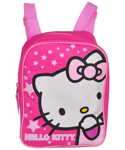Hello Kitty 10' Mini Backpack- Pink Stars