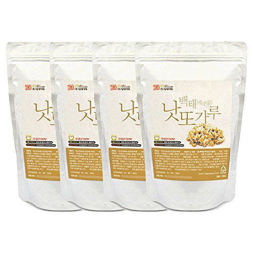 Soybean Natto Powder 4 Pack 100% Natural Nattokinase Freeze-Dried Fermented Food Vitamin K2 Total 1200g(42.3oz) by K-Herb