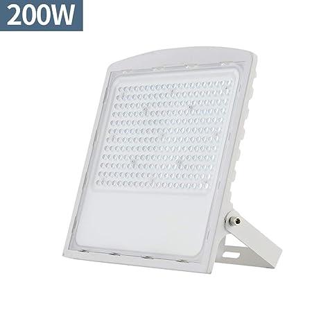 WKZ Foco Proyector LED,3500K/6300K De Aluminio IP66 Reflector De ...