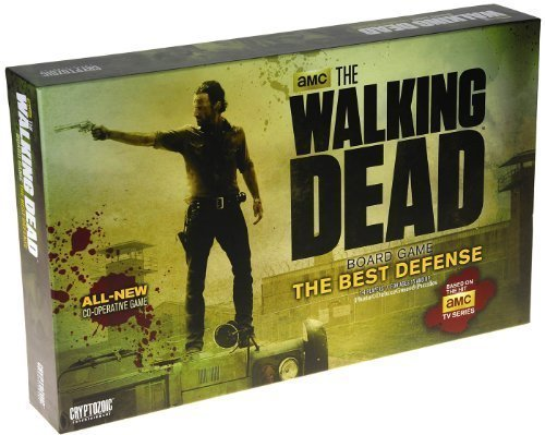The Walking Dead Board Game: The Best Defense Edition _ _ _ Based on AMC TV series by Cryptozoic Entertainment cab2a4