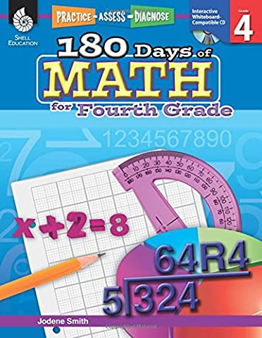 180 Days of Math for Fourth Grade (180 Days of Practice) (Castle Season 2 Instant)