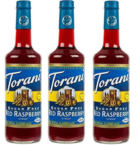 Torani 3 Pack Sugar Free Red Raspberry ()