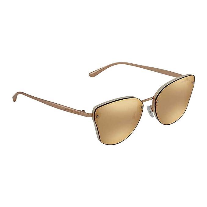 Michael Kors 0MK2068, Gafas de Sol para Mujer, Milky White, 58