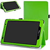 "Ellipsis 8 / Ellipsis Kids 2015 Case,Mama Mouth Slim Folio 2-folding Stand Case Cover for 8"" Verizon Ellipsis 8 4G LTE/Ellipsis Kids QTAQZ3KID 2015 Android Tablet,Green"
