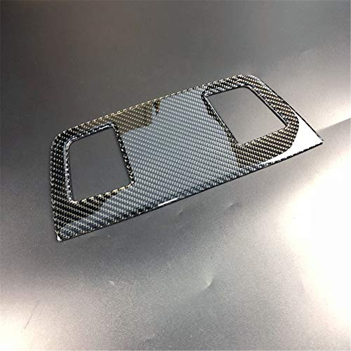 Door Panel Speaker Covers - Carbon Fiber Door Speaker Sound Ring Audio Loudspeaker Air Vent Outlet Panel Frame Decal Cover Trim for BMW 3 Series 5th E90 E91 E92 E93 2005-2013 9CF (Classic)