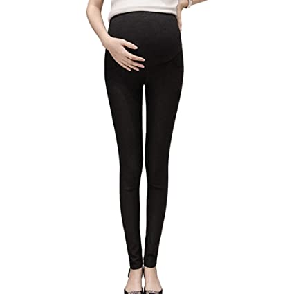 e8857ca864d55 Zacherry Women Maternity Lady Leggings Pants Trousers Elasticity Stretchy  Nursing High Waist: Amazon.in: Home & Kitchen