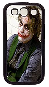 The Dark Knight Heath Ledger Custom Samsung Galaxy S3 I9300 Case Cover Polycarbonate Black by mcsharksby Maris's Diary