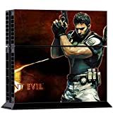 Mod Freakz Console and Controller Vinyl Skin Set - Res Evil Apocalypse for Playstation 4
