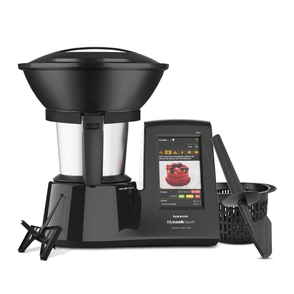 Robot cocina Taurus Mycook Touch Black Edition