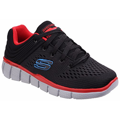 Skechers Equalizer 2.0-Post Season, Zapatillas Para Niños grafito/negro