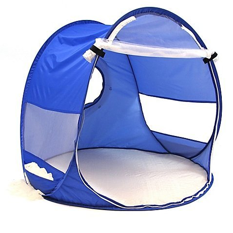Redmond Beach Baby Pop-Up Shade Dome in Blue by Redmond
