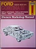 'FORD CORTINA MK.III 1300, 1600 OWNER'S WORKSHOP MANUAL (CLASSIC REPRINT SERIES: OWNER'S WORKSHOP MANUAL)'