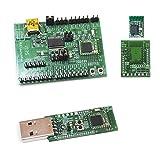 cc2540 usb evaluation module kit - ELSRA BLE 4.2 & 5.0 Bluetooth Low Energy Evaluation/ Development Kit EVK-CC2640, USB Dongle Development Kit UDK-CC2540, BLE 4.2 & 5.0 CC2640R2F Module BT03-1 w/ DIP adapter PCB