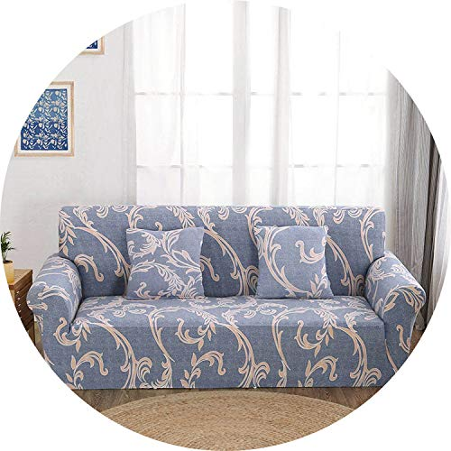 Jade clear Floral Printing Sofa Cover Spandex Stretch Slipcovers Sofa Cover Removable Elastic All-Inclusive Couch for Living Room 1 PC,Color 24,1seater 90-140cm (Outdoor 2017 Furniture Home Outfitters)