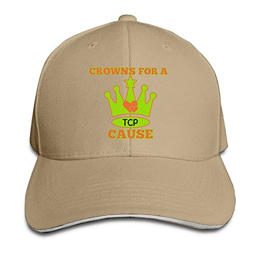 Odr Kopwiea Men Tcp Crowns For A Cause Fashion Travel Natural Caps Adjustable Snapback