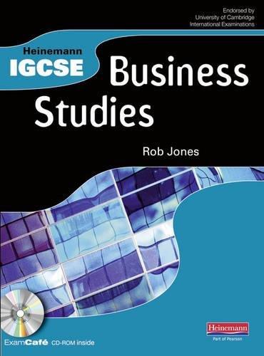 Heinemann IGCSE Business Studies Student Book with Exam Cafe CD