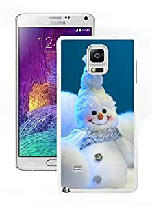 Personalize offerings appy little snowmen christmas Snowman White Samsung Galaxy Note 4 Case 1