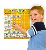 Fiesta Crafts Magnetic Star Chart / Reward Chart ( Large)
