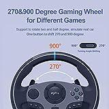 PXN V9 PC Driving Wheel, 900 Degree Vibration