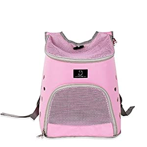 YD Pet Travel Carrier Dog Bag Shoulder Dog Backpack Cat Cage Cat Bag Pet Outing Package Outgoing Portable Dog Bag… Click on image for further info.